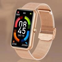 Reloj deportivo inteligente resistente al agua, pulsera con Monitor de ritmo cardíaco, oxígeno en sangre, pantalla OLED, para Huawei y Xiaomi, 6 uds.