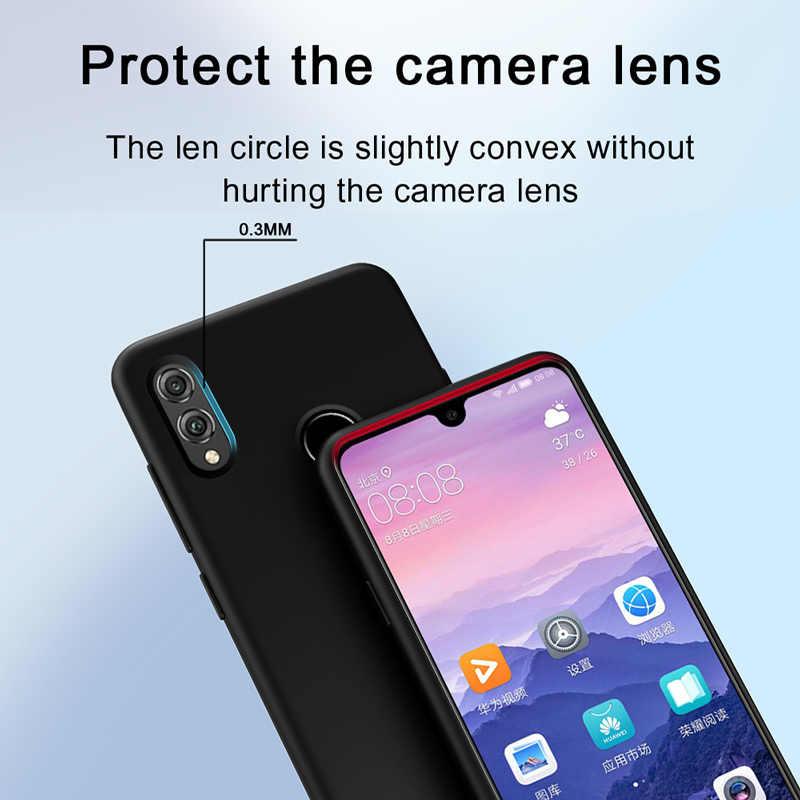 Funda trasera de silicona suave de honor 8X funda protectora a prueba de golpes Huawei honor 10 lite 8X20 pro