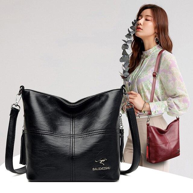 Velho tang tendência senhoras sacos de ombro para as mulheres 2020 novas bolsas de luxo grande capacidade couro mulher crossbody saco 6