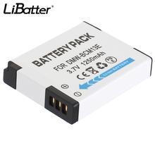 LiBatter 1 piece Rechargeable Lithium-ion Battery For Panasonic DMW-BCM13 DMW-BCM13E DMW-BCM13PP 3.7V 1250 mAh Camera battery