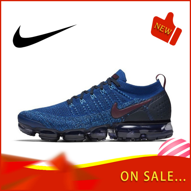 Original authentic NIKE AIR VAPORMAX FLYKNIT 2.0 men's running shoes outdoor classic sports shoes  new breathable 942842-104