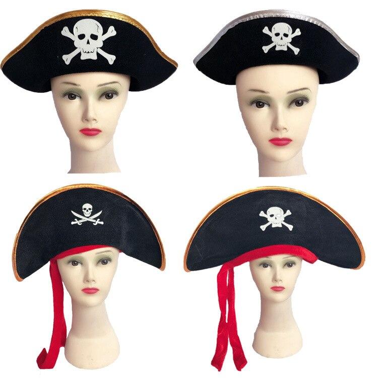 CosDaddy Halloween Cosplay pirata sombrero adultos niños sombrero de fiesta de Carnaval Estatua de una pieza de 9 pulgadas, sombrero de paja, piratas, bigotes blancos, busto, figura de acción de 23,5 CM, juguete de modelos coleccionables, caja J430