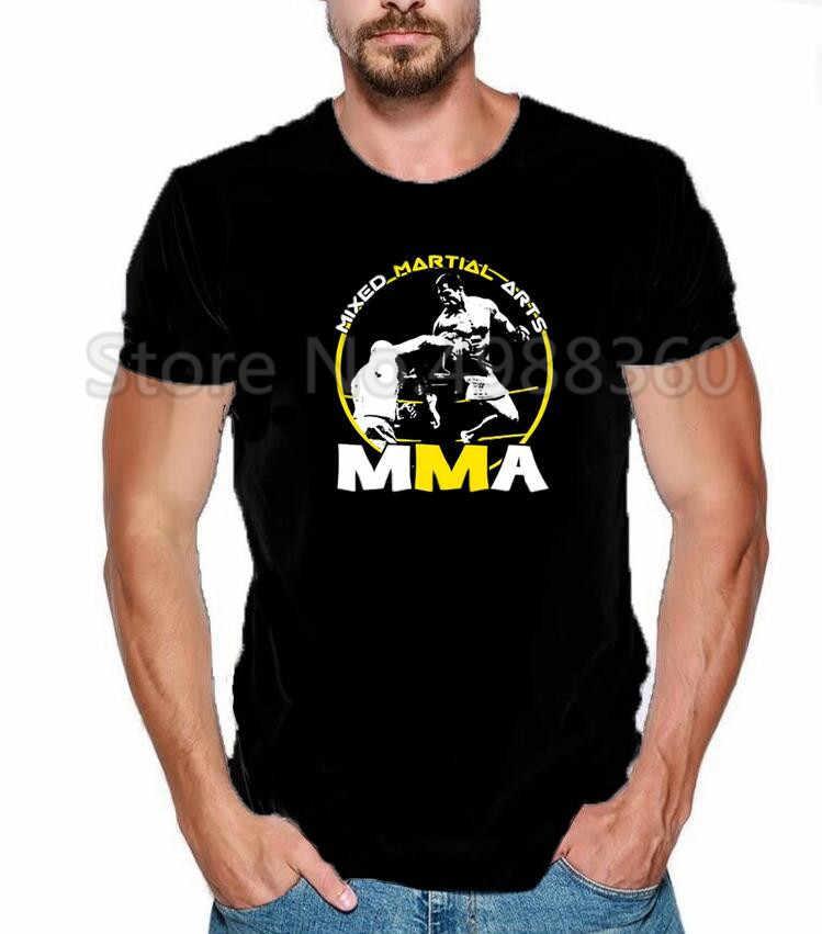 MMA mannen Strakke Korte mouwen MMA Rashguard T-shirt Boksen Trikots Rashguard Bjj Kickboxen T-shirt Muay thai Sanda Training t