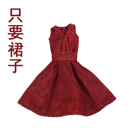 30cm Doll Dress Fashion Clothes suit for licca For Barbie Doll for blythe Accessories Baby Toys Best Girl' Gift 3