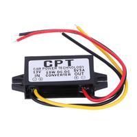 DC para DC Regulador Conversor 12V para 5V 3A 15W Auto Car Power Adapter Converter para Carcorder rádio de Áudio de navegação|Inversores automotivos| |  -