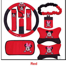 2 color steering wheel cover for cartoon pattern car accessories decoration hand
