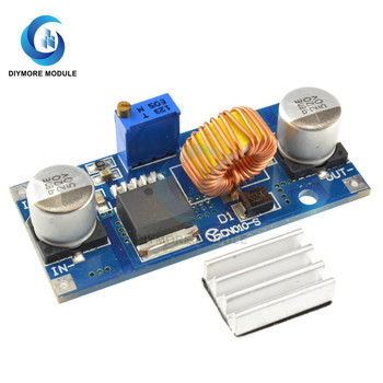 XL4015 5A DC-DC Step Down Power Supply CC CV Voltage Converter Transformers Module For Lithium Battery Charging image