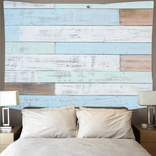Wood tapestry retro art tapestry hippie wall hanging room wall decoration wood board pattern series tapestry polyester yoga цена 2017
