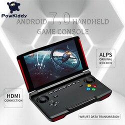 Powkiddy X18 Andriod handheld-konsole 5,5 zoll 1280*720 bildschirm MTK 8163 quad core 2G RAM 32G ROM Video handheld-spiel-spieler