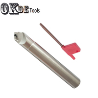 1PCS SSK16 16 110 APMT1135 carbide insert 45 Degree Insertable Face 16mm Chamfer Mill for APMT1135 Chamfer Cutter Boring Tool Tools -