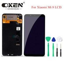 OSSEN 6.21inch Oled scherm voor Xiao mi mi 8 display digitizer Vergadering Mi 8 lcd touch screen VERVANGING Gratis gereedschap