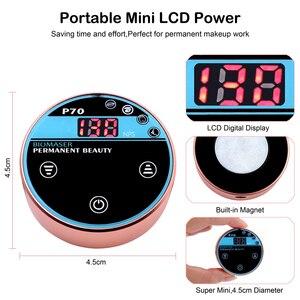 Image 3 - BIOMASER Mini güzellik kalıcı makyaj makinesi kaş nakış dijital dövme kalemi kitleri güçlü sessiz Motor kaş dudakları için