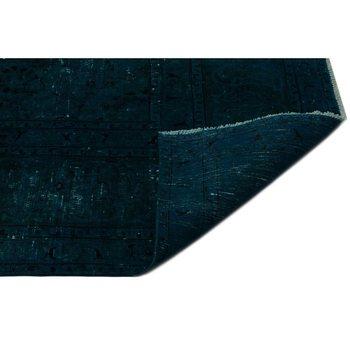 Tapis persan Vintage Turquoise fait main 290x380 Cm-9 '6''X12'6''