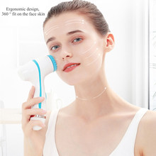 Facial Cleansing Brush Sonic Nu Face Rotating Brush Set Galvanica Facial Spa System Deep Cleansing Skin Blackhead Skin Care