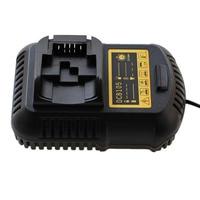 dawupine Li Ion Battery Charger 4A For Dewalt 10.8V 12V 14.4V 18V 20V 60V Dcb101 Dcb115 Dcb107 Dcb105 Battery DCB200 DCB140