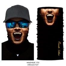 Scarf Bandanas Neck Gaiter Ski-Balaclava Joker Face-Shield Mouth-Mask Hiking Cuello Ciclismo