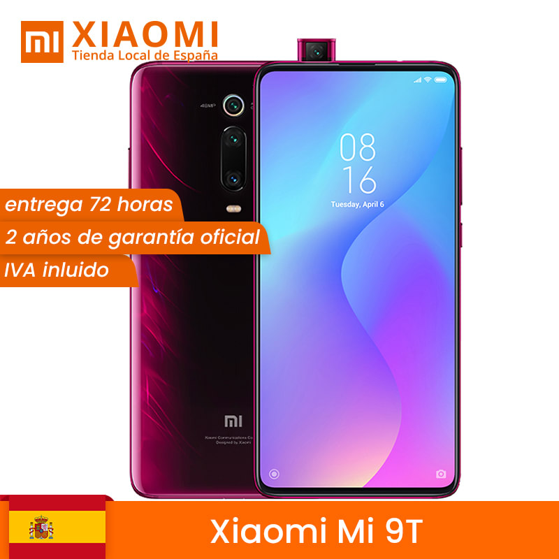 [Global version] Xiaomi Mi 9T Smartphone 6,36 (RAM 6 GB + ROM 64 GB, selfie camera pop-up 20 MP, 4000mAh Battery) image