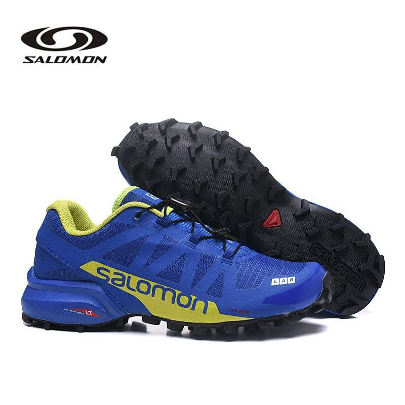 Salomon SPEEDCROSS Pro 2 Men Sneakers Red Man Breathable Fencing Shoes Salomon Speed Cross 5 Mens Sneaker Cross-Country Shoes