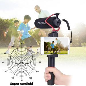 Image 4 - Comica CVM V30 LITE  Video Microphone Super Cardioid Condenser On Camera Shotgun Microphone for Nikon Canon Sony iPhone Huawei