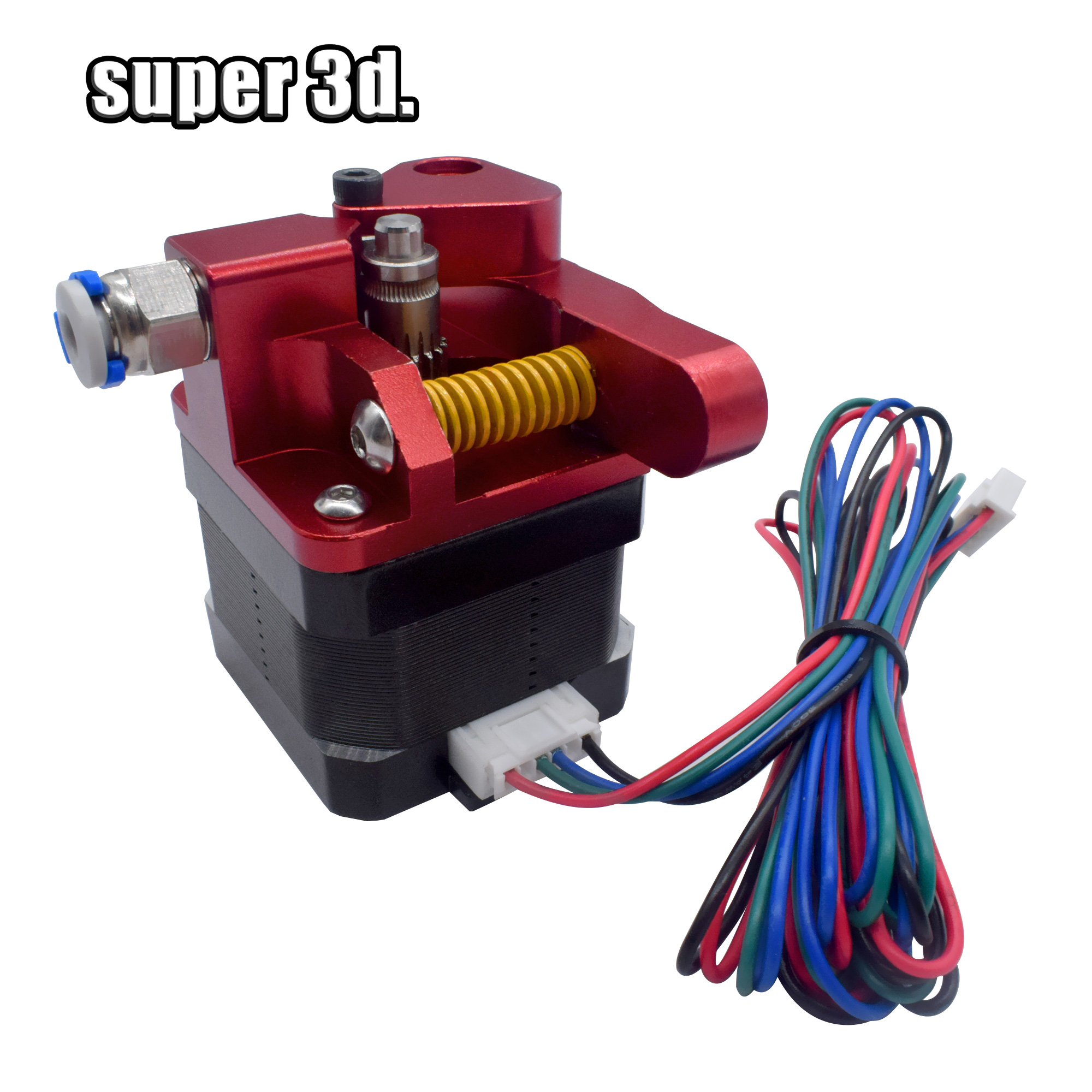 Aluminum Upgrade Dual Gear Mk8 Metal  Extruder Kit For CR-10 CR-10S PRO RepRap Prusa I3 1.75mm 3D Parts Drive Feed Double Pulley