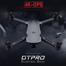 OTPRO 새로운 드론 브러시리스 모터 5G GPS 드론 4K 듀얼 카메라 전문 Foldable Quadcopter 1200M RC 거리 장난감 vs k20