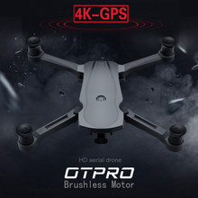 Otpro Nieuwe Drone Borstelloze Motor 5G Gps Drone Met 4K Dual Camera Professionele Opvouwbare Quadcopter 1200M Rc afstand Speelgoed Vs K20(China)