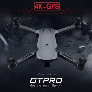Image 1 - OTPRO Nuovo Drone Brushless Motore 5G GPS Drone Con 4K Dual Macchina Fotografica Professionale Pieghevole Quadcopter 1200M RC distanza Giocattolo vs k20