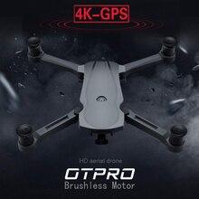 OTPRO nowy Drone bezszczotkowy silnik 5G GPS Drone z 4K podwójny aparat profesjonalny składany Quadcopter 1200M RC odległość zabawka vs k20