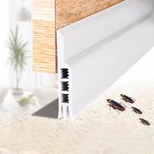 Раздвижные уплотнительные полосы для двери уплотнительная прокладка черновик пробка бескаркасные скользящие окна дверная изоляция Кремниевая резина 2 шт#10