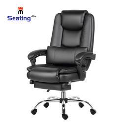 Seatingplus silla de oficina ergonómica de piel sintética silla ejecutiva de escritorio de ordenador sillas de ejecutivo de gestión