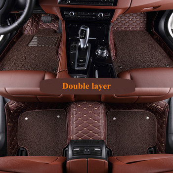 High quality mats! Custom special car floor mats for BMW X5 G05 2020 waterproof durable two layers car carpets for X5 G05 2019