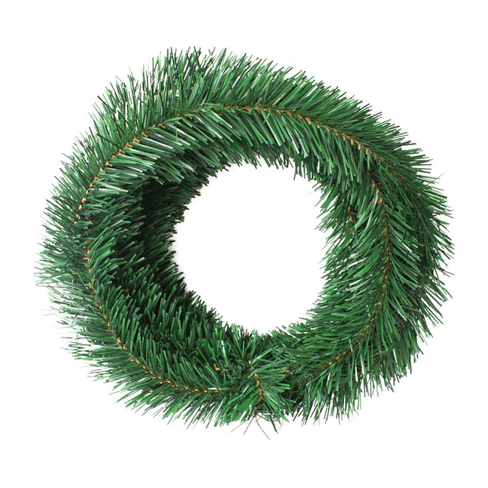 Christmas Decoration Artificial Rattan 5.5 M Encryption Simulation Plant Garland Pine Artificial Flower DIY Wreath For Xmas Tree
