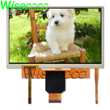 wisecoco LMS700KF15 LCD Display Touch screen assembly Touch panel digitizer LMS700KF23 7 INCH 800x480 TFT LCDs