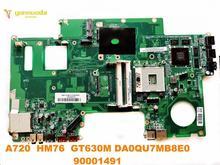 원래 레노버 A720 노트북 마더 보드 A720 HM76 GT630M DA0QU7MB8E0 90001491 테스트 좋은 무료 배송