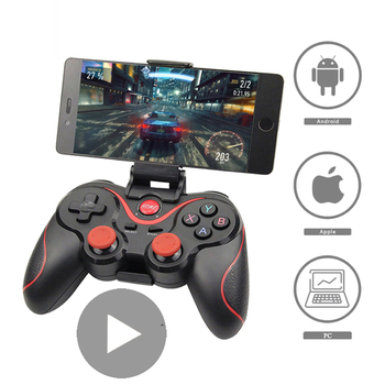 Control Bluetooth for Cell Phone Gamepad Joystick PC Android iPhone Smart TV Box Trigger Mobile Game Pad VR Controller Cellphone джойстик vr box bluetooth gamepad 2 0