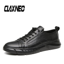 Buy CLAXNEO Man Shoes Casual Leather Shoe Spring Autumn Male Sneakers Genuine Leather Fashion Walking Footwear Men's Shoe Big Size directly from merchant!