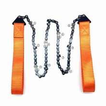Chain Survival-Gear Cutting Hiking Camping New for Tree Hand-Saw Folding Serrated 24inch