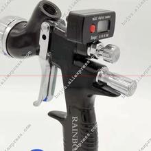 Air pneumatic gun GTI pro lite painting gun TE20/T110 1.3 nozzle air spray gun water based with Mini digital Air regulator Gauge