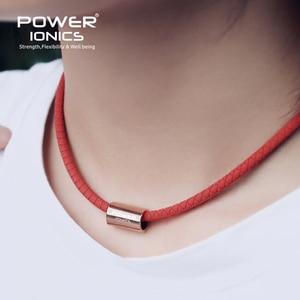 Image 3 - Collier en titane Bio Silicone, pendentif pour femmes et hommes, inscription fda, puissance ionique 3000, santé, mode de sport, lettrage gratuit