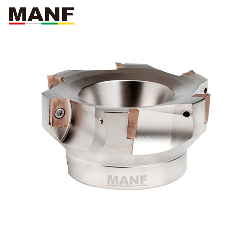 MANF Milling Cutter 400R-50-22-4T / 400R-63-22-4T /400R-160-50.8-8T Face Mill Holder End Mills Face Milling Cutter Head