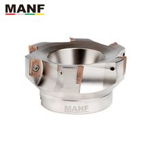 MANF Milling Cutters Tools 50-22-4T 63-22-4T 160-40-8T  Indexable Face Milling Cutter Mill Head  For APMT1604PDER Carbide Insert