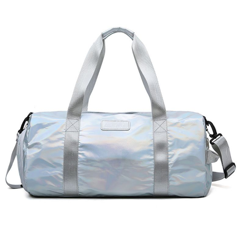 Sport-Gyms-Bag Tote Handbag Luggage Shoes-Compartment Travel Duffel Lightweight Holographic
