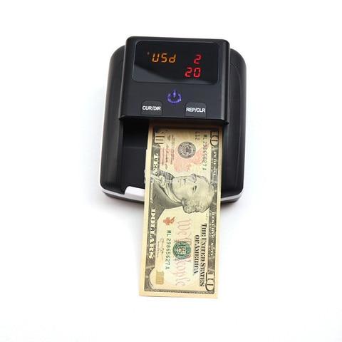 dinheiro detector com 500ma bateria