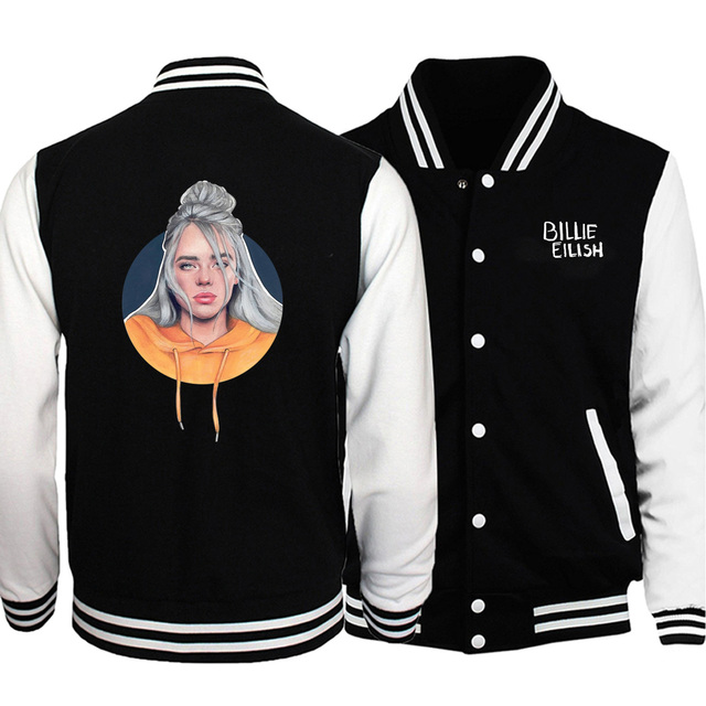 BILLLIE EILISH BASEBALL JACKET