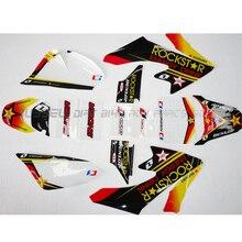 RRockstar – autocollants graphiques pour moto, pour Honda CRF50 CRF50F STYLE Pit Dirt bike