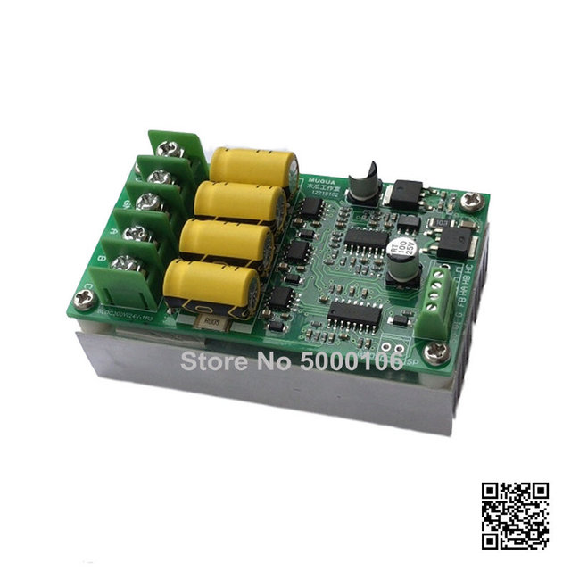 Bldc Three phase RC Motor Violent Fan Speed Control Drive Control Board DC Brushless No Hall Electric Mechanism