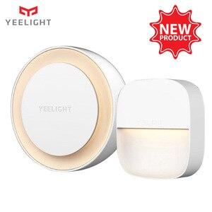 Image 1 - Yeelight YLYD09YL carré lumière contrôlée capteur intelligent veilleuse Ultra faible consommation dénergie pour xiaomi mijia MI maison