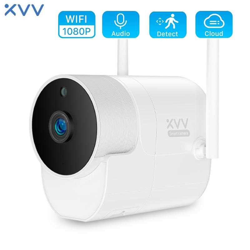 1080P Ip Camera Wifi V380 App Xiaovv B1 Wireless Security Surveillance Webcam 160 ° Groothoek Outdoor Cctv bewegingsdetectie Camera