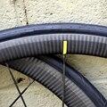 3K Twill DT 350 ступица u-образная 38 мм/50 мм Колесная велосипедная 700C 25 мм ширина клинчер Powerway R36 дорожный 700C Велосипедное колесо-набор