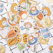 Mohamm Sugar Poem Boxed Sticker Kawaii Stickers Planner Scrapbooking Stationery Japanese Diary School Supplies Stickers